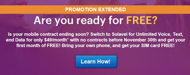solavei free promotion